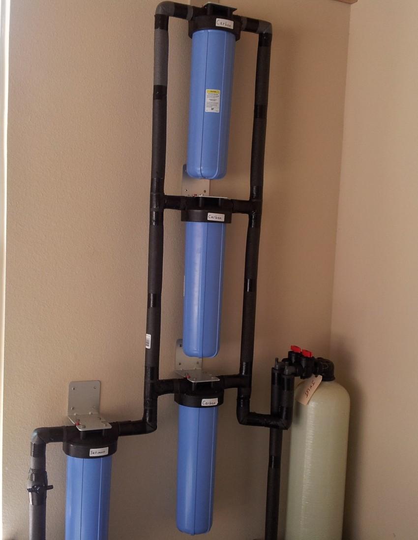Pure Water Gazette 187 Multi Filter Installations Provide